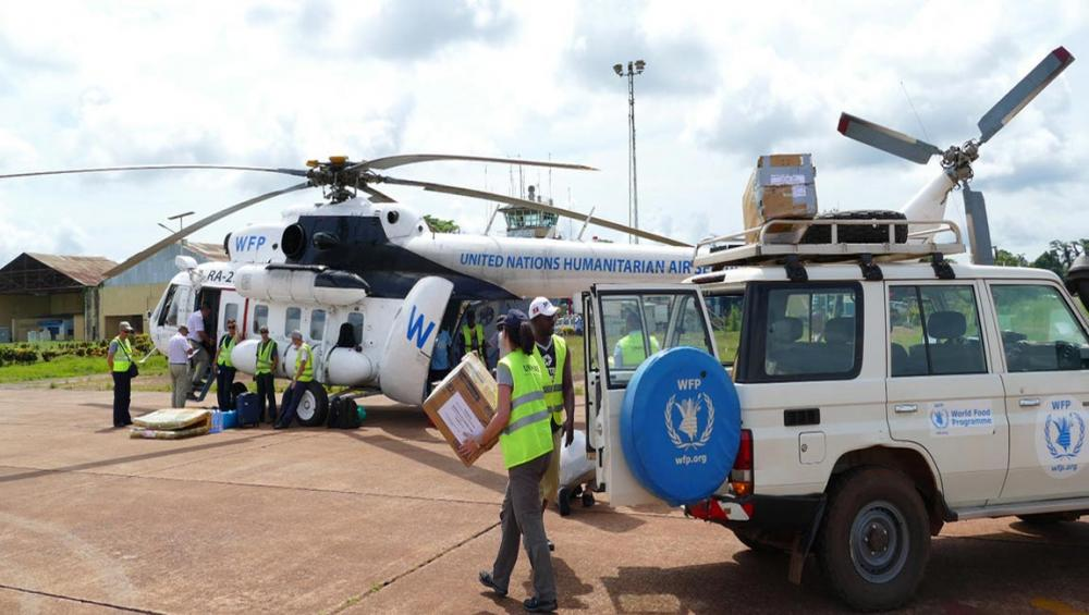 UN food relief agency airlifts aid to DR Congo province hit by Ebola outbreak
