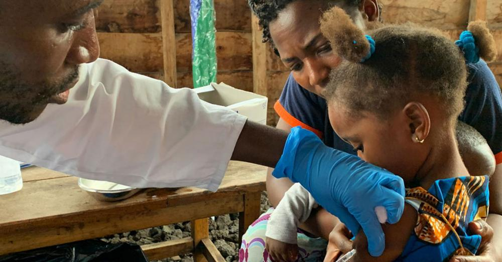 Child vaccinations down in DR Congo, and COVID-19 is not helping: UNICEF