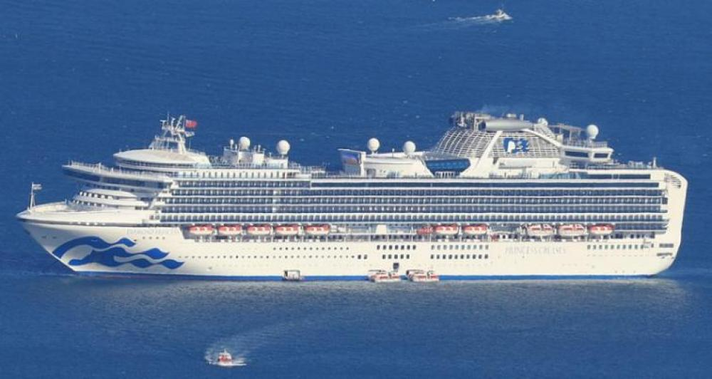 Russian national confirmed infected with COVID-19 on quarantined Diamond Princess: Embassy