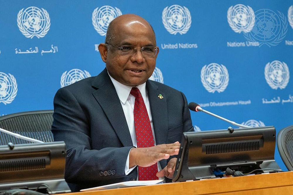 Got two doses of Covishield: UN General Assembly President Abdulla Shahid amid India-UK vaccine war