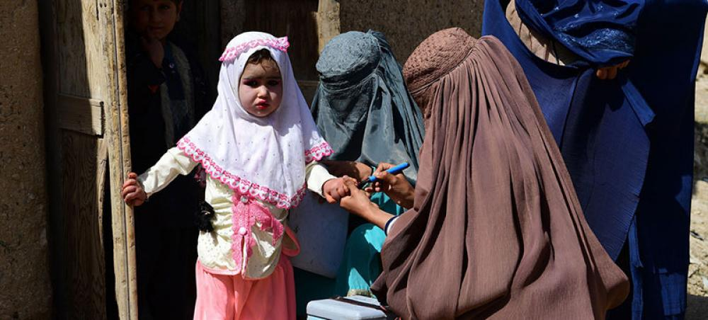 Taliban backs WHO polio vaccination campaign across Afghanistan next month