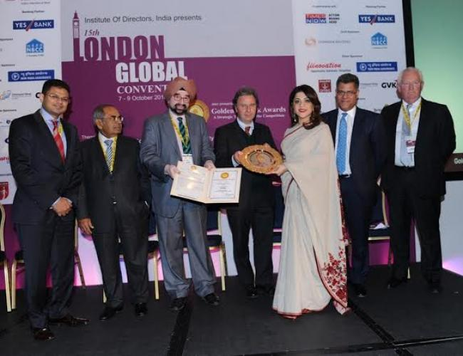 India's prestigious Golden Peacock Global Award presented to UAE's British Orchard Nursery