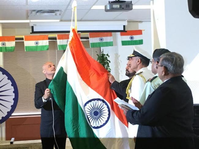 Indian Tricolour flies high in Canada