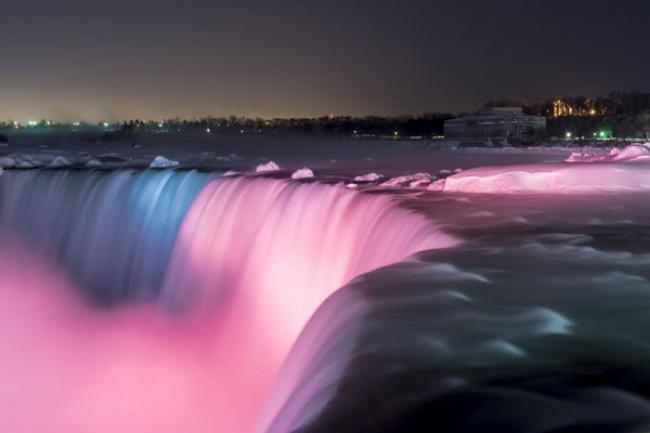 Frozen Fantasy: The Niagara Falls