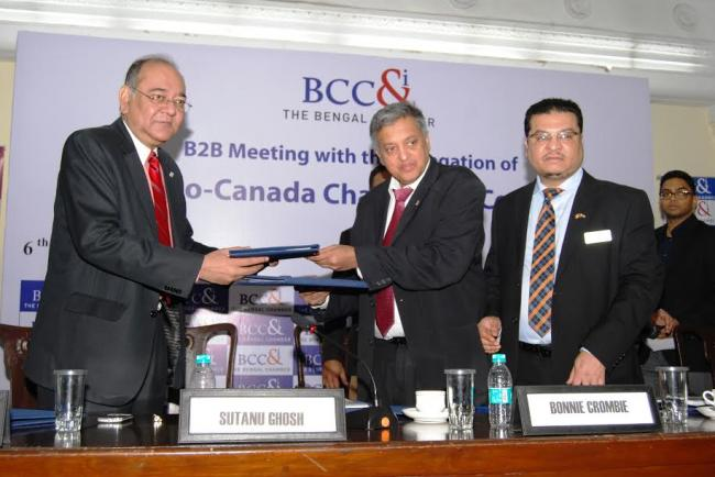 Bengal Chamber organises B2B meeting with Indo-Canada Chamber of Commerce