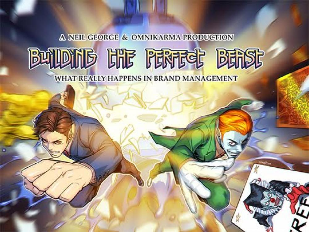 A comic book that took 2 years to complete and cost millions