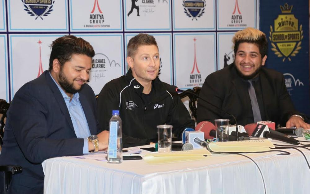 Kolkata: Aditya School of Sports launches Masterclass with Michael Clarke