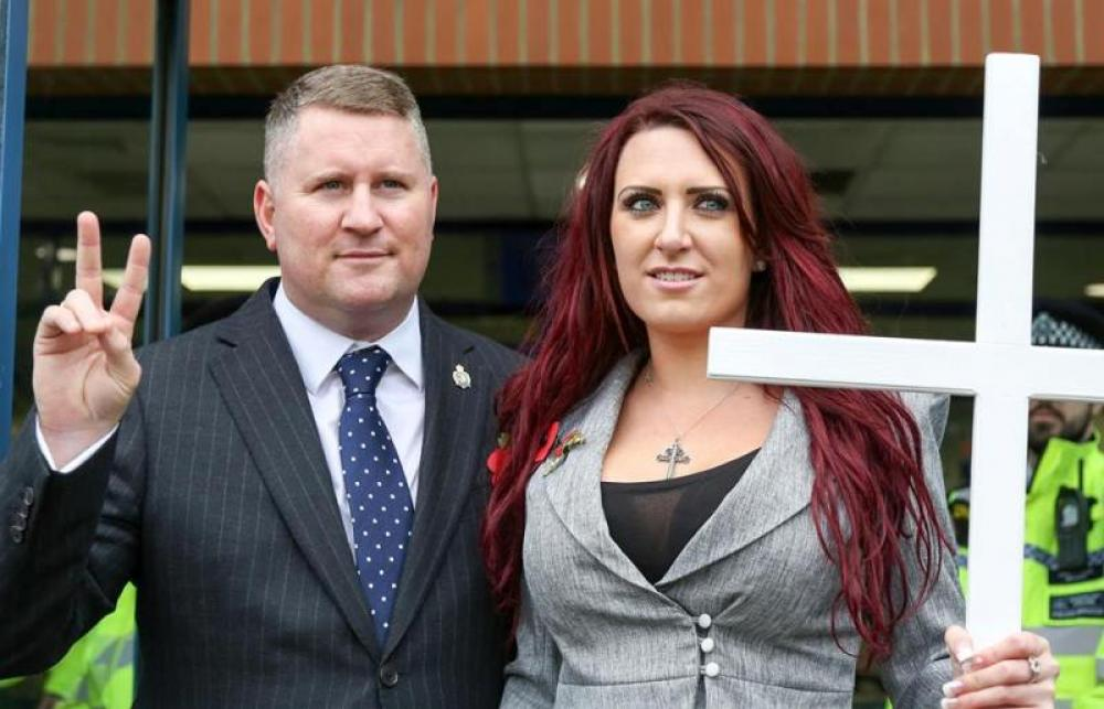 Twitter suspends Britain First accounts for spreading hate online