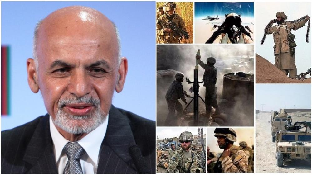Afghanistan President urges rebels to join peace process
