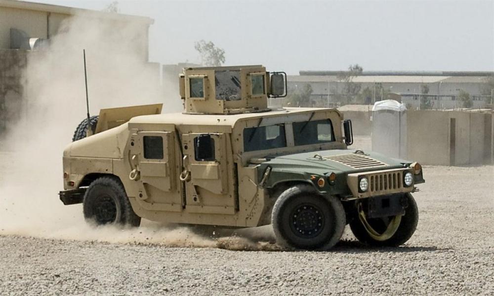 Afghanistan: One killed, two injured in Humvee explosion