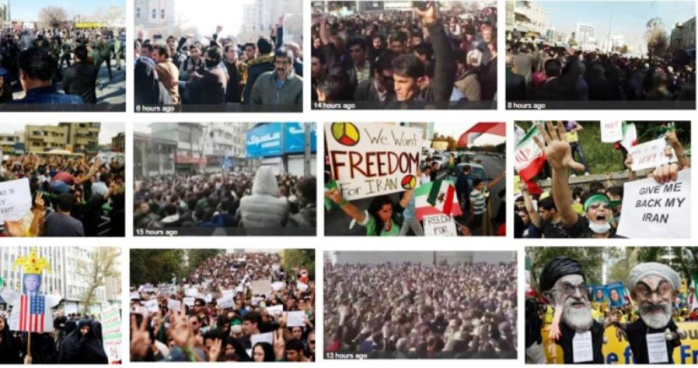 Anti-government demonstrations grip Iran, several arrested