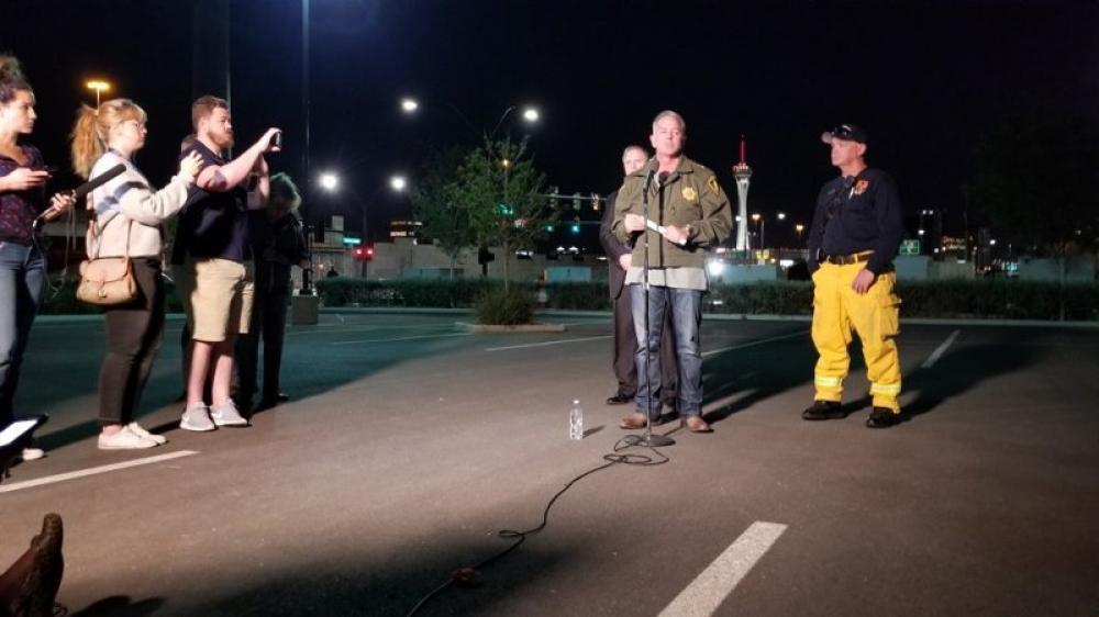 Las Vegas shooting: 20 killed, more than 100 injured; Suspected gunman down