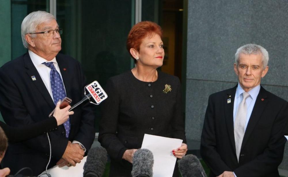 Australian senator wears burqa inside parliament, stirs up controversy