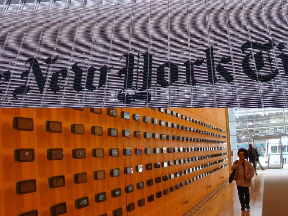New York Times publisher A G Sulzberger urges Donald Trump to not call press 'enemy of the people'