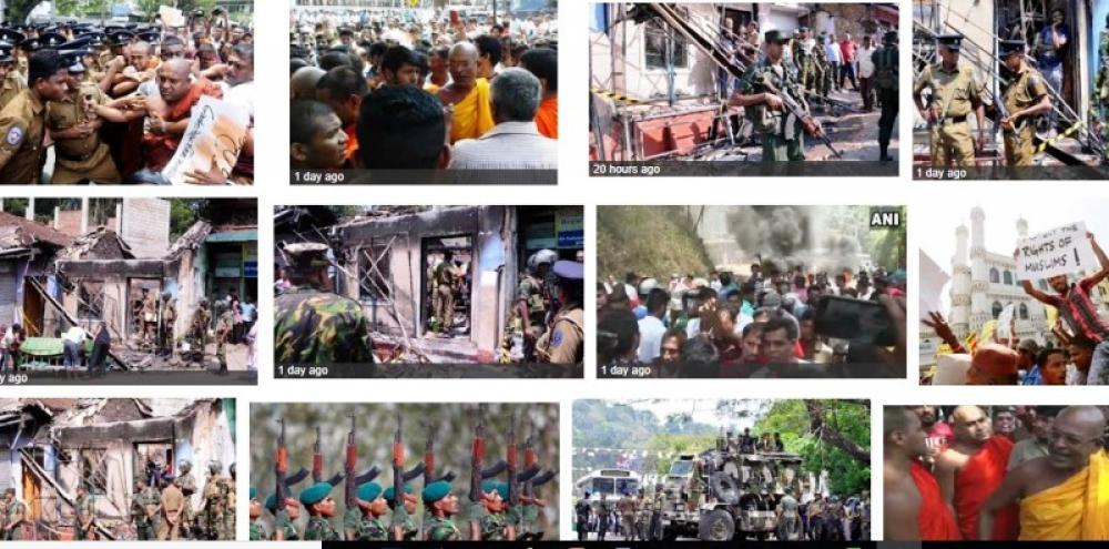 Sri Lanka restricts social media to prevent escalation of Buddhist-Muslim clashes