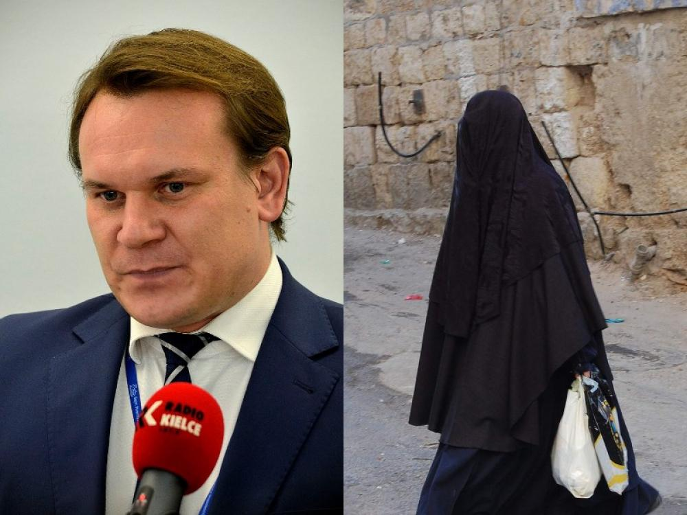 Polish minister says no to burqa; no mosques in Europe until Saudi Arabia allows a church in its vicinity