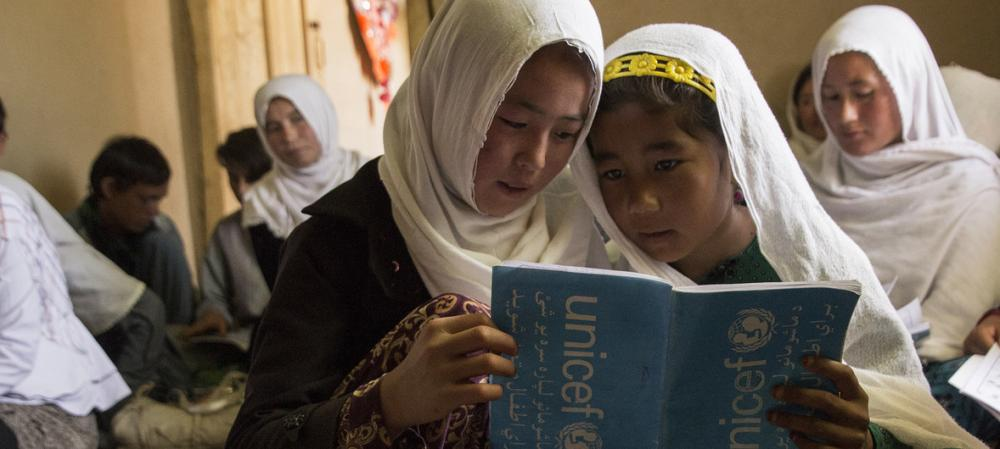 Half of Afghan children out of school, due to conflict, poverty, discrimination: UNICEF