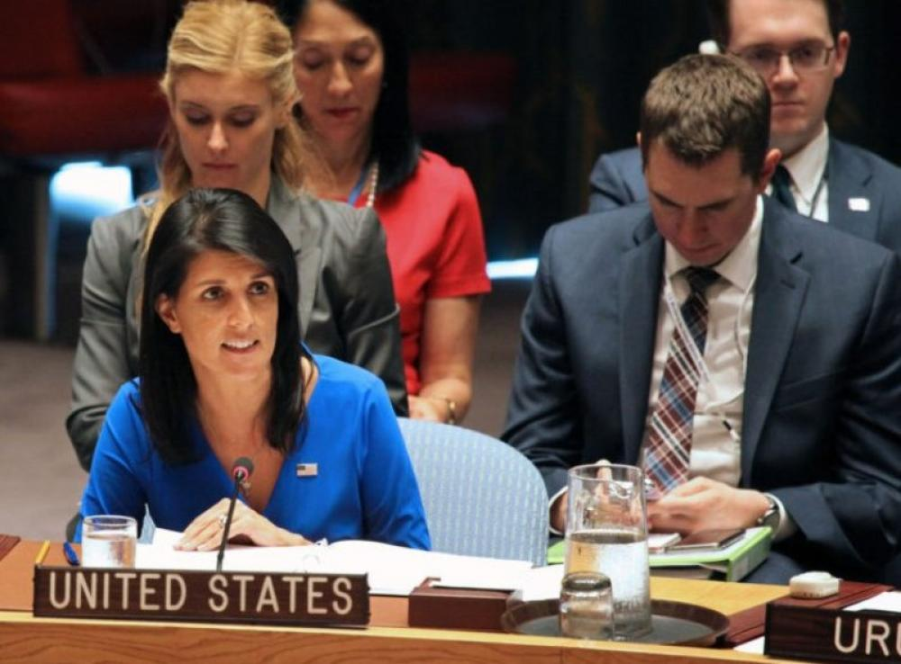 US ambassador to UN Nikki Haley resigns