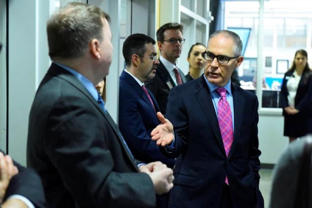 Scott Pruitt quits as US Environmental Protection Agency head