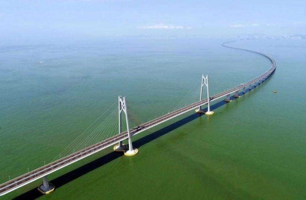 Hong Kong-Zhuhai bridge: Chinese President Xi Jinping inaugurates the world's longest sea crossing bridge