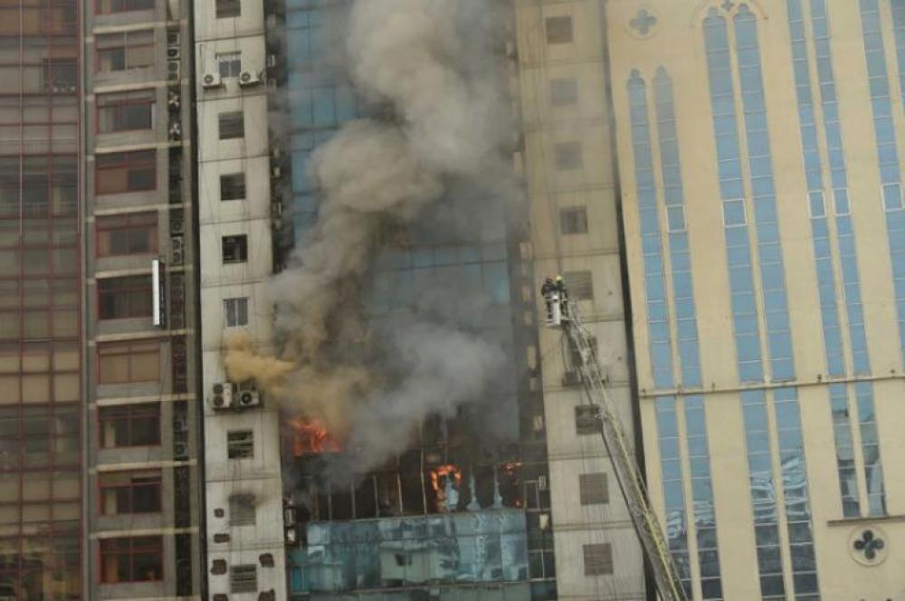Bangladesh high-rise fire: Minister describes death of 25 victims as 'murders'