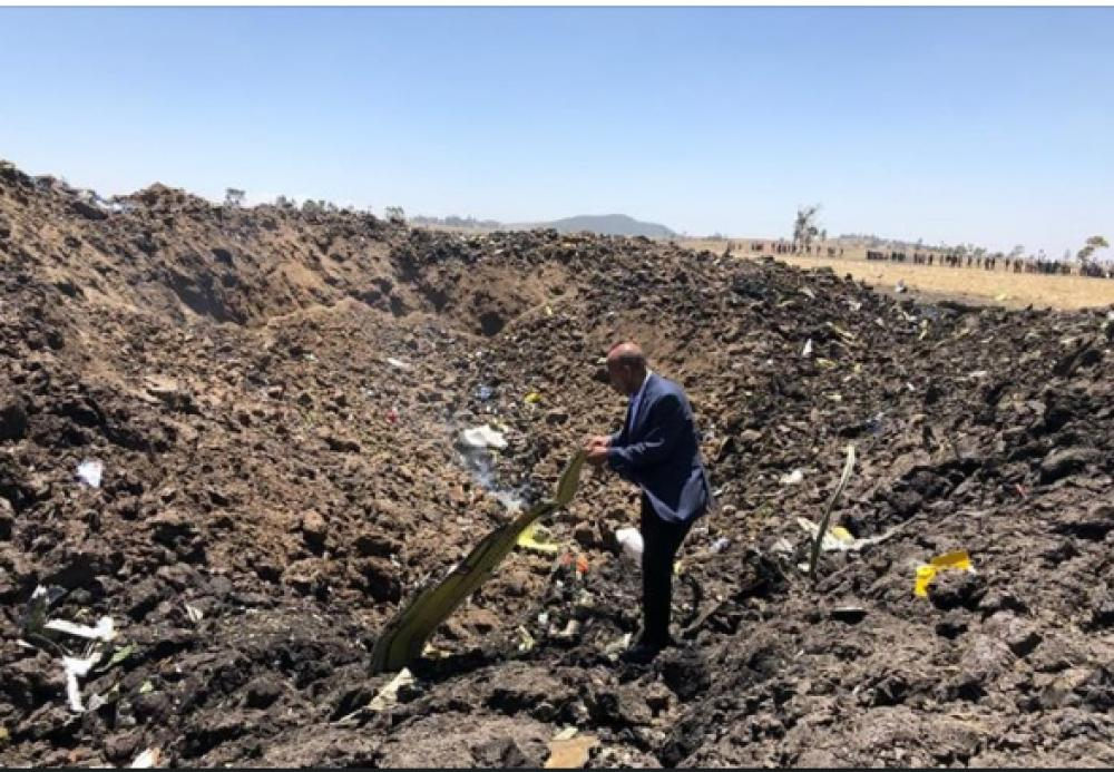 Ethiopian Airlines crashes, no survivors feared