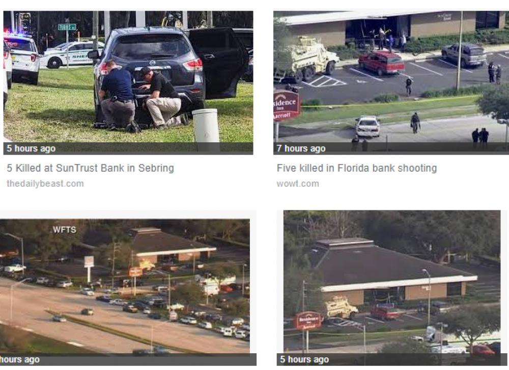 Florida bank shooting kills 5 people, suspect arrested