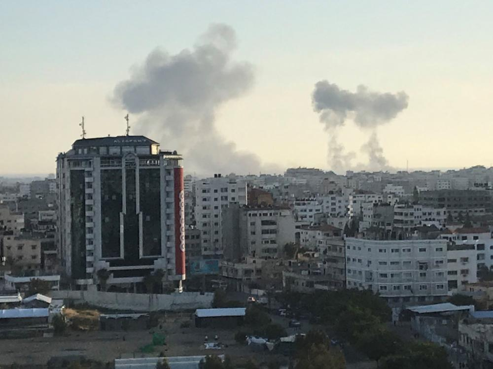 Fourth Palestinian killed by Israeli airstrikes on Saturday - Medics