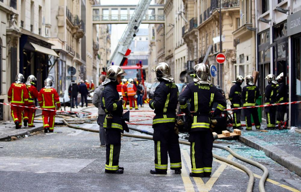 France: Explosion in Paris bakery leaves two firefighters dead