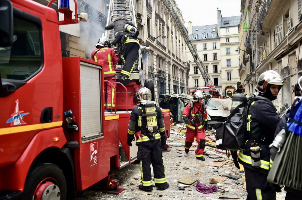 France: Explosion in Paris bakery leaves 20 hurt