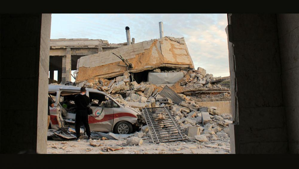 UN's Guterres condemns ongoing airstrikes on Syria's hospitals, medical workers