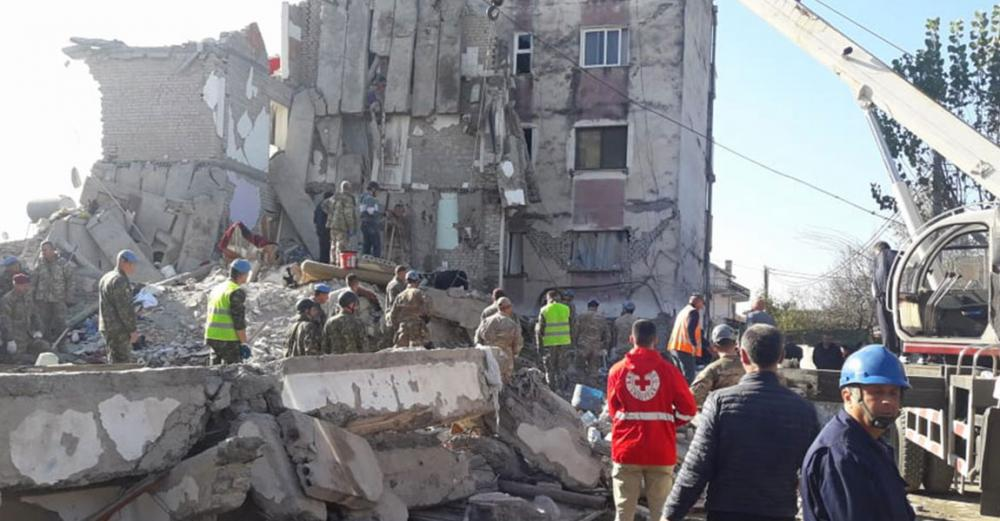 WHO working to save lives following powerful earthquake in Albania