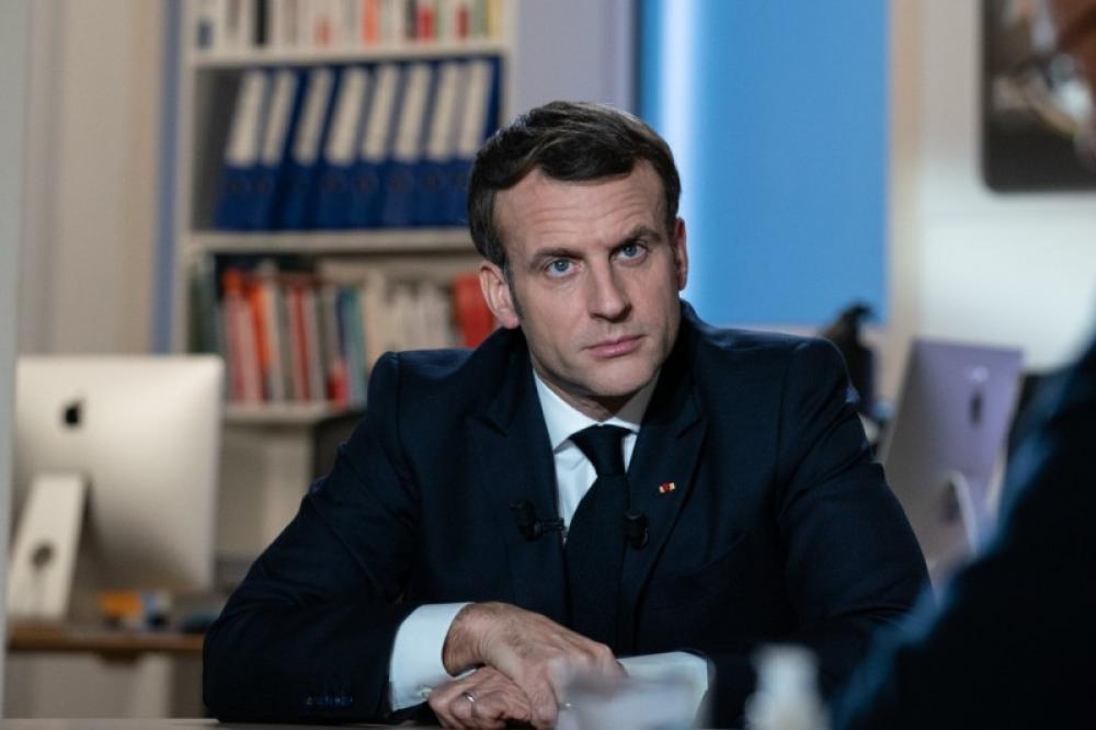 French President Emmanuel Macron tests Covid-19 positive