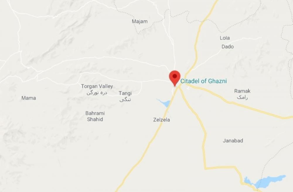 Roadside mine blast kills district police chief in Afghanistan