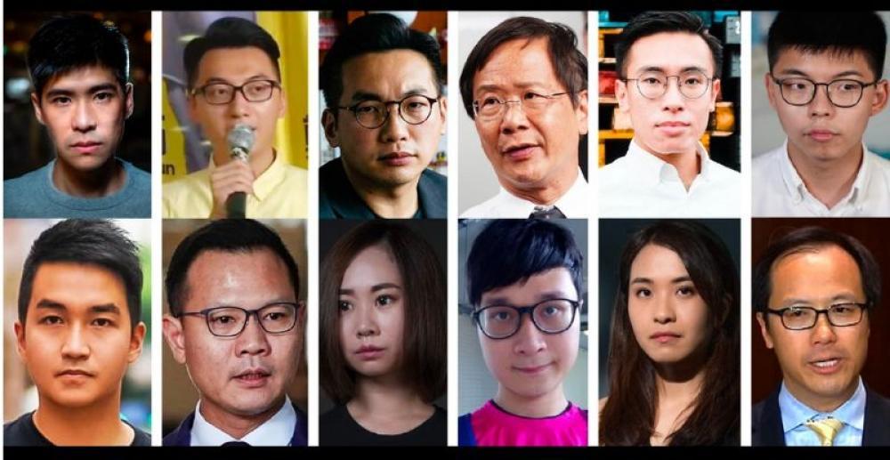 Hong Kong bars 12 pro-democracy candidates from contesting polls