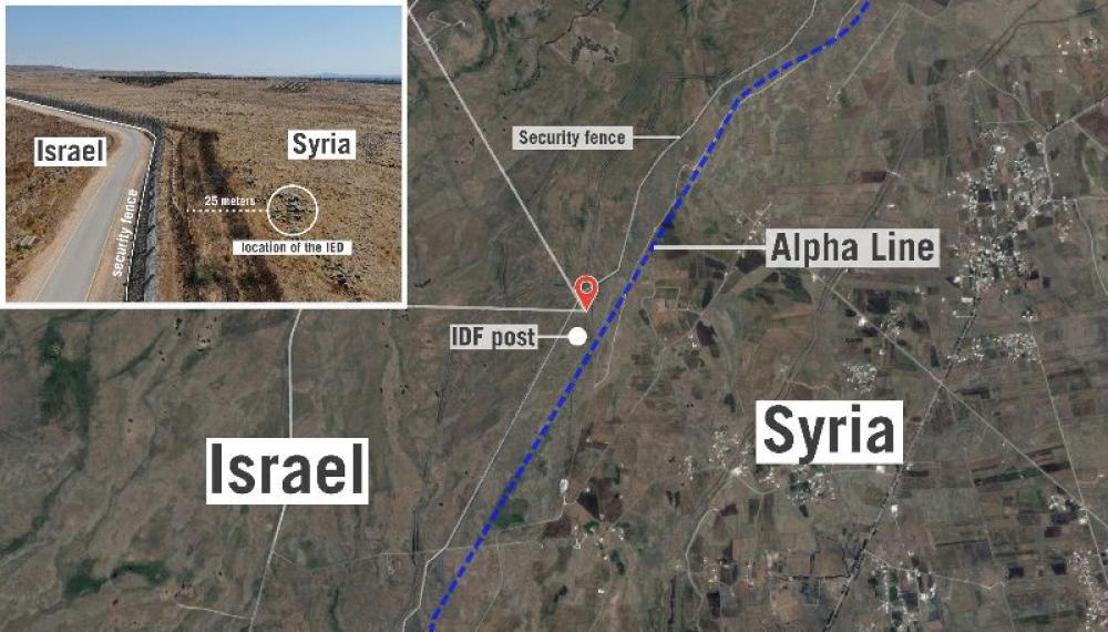 Israel confirms carrying out strikes against Syrian military targets