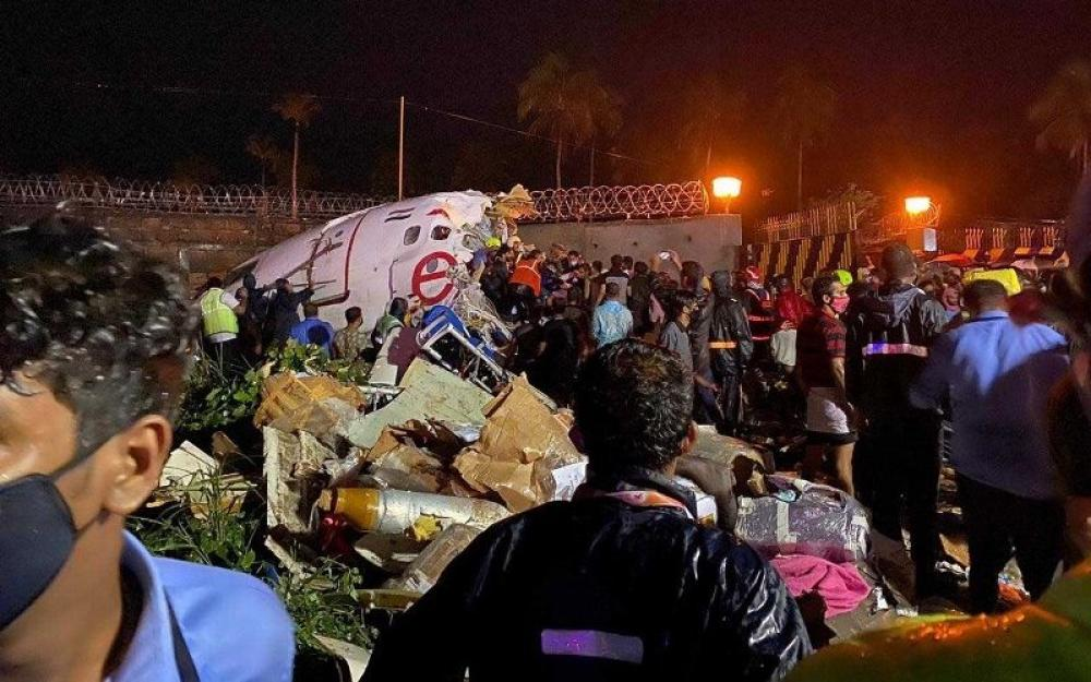 Kerala plane crash: Aircraft carrying Indians stranded in Middle East amid Covid-19 splits into two in southern India, kills 18