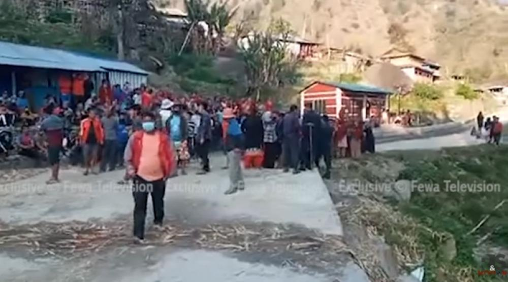 Nepal: Chinese defy COVID-19 lockdown, clash with locals in Lamjung