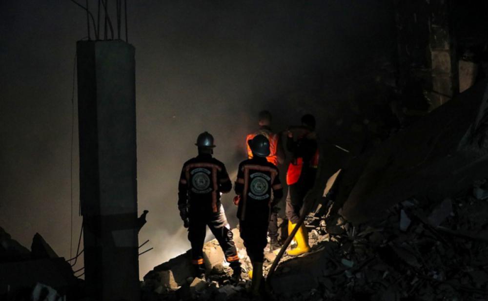 Gaza explosion leaves 1 dead, 10 hurt
