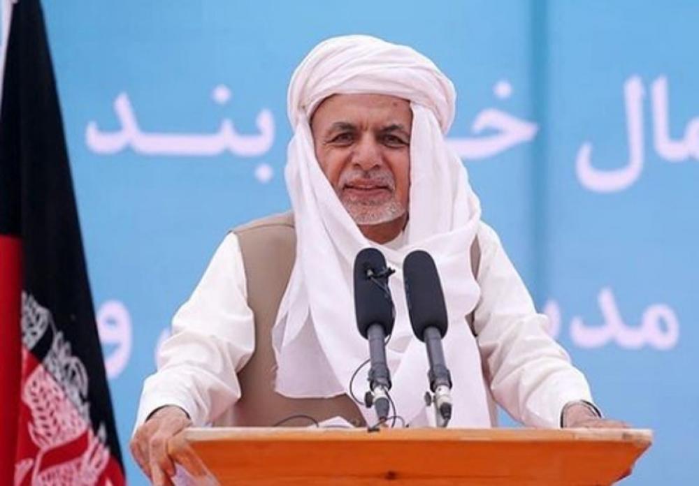 Afghanistan President Ashraf Ghani says Taliban has