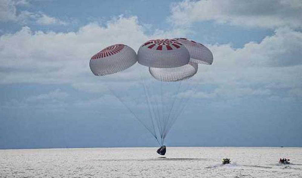 Inspiration4 all-civilian crew makes splashdown off Florida coast, says SpaceX