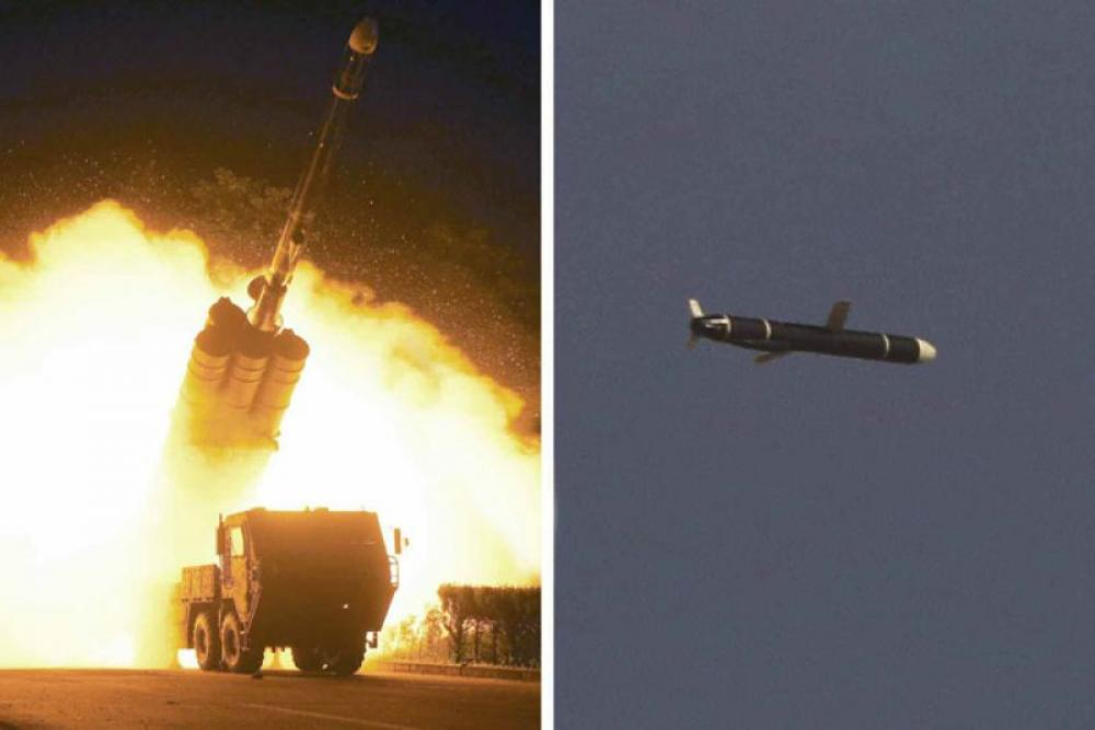 North Korea tests two ballistic missiles off its east coast: South Korean military