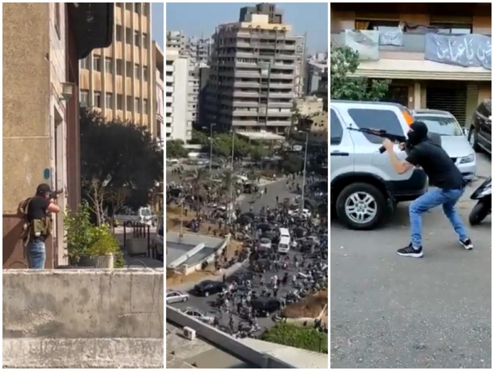Lebanon: Six dead, 30 more injured by gunfire at Beirut blast protest