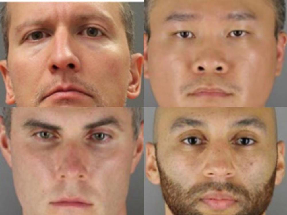 Derek Chauvin, three other former cops indicted by federal grand jury in George Floyd