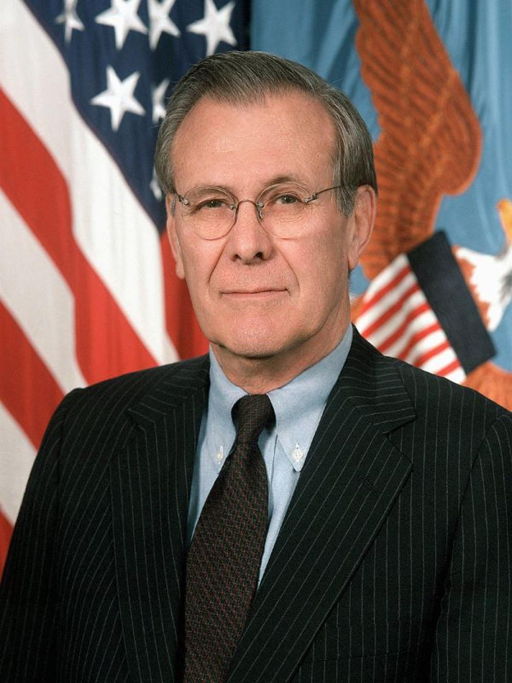 Donald Rumsfeld: Two-time US Defense Secretary who led America