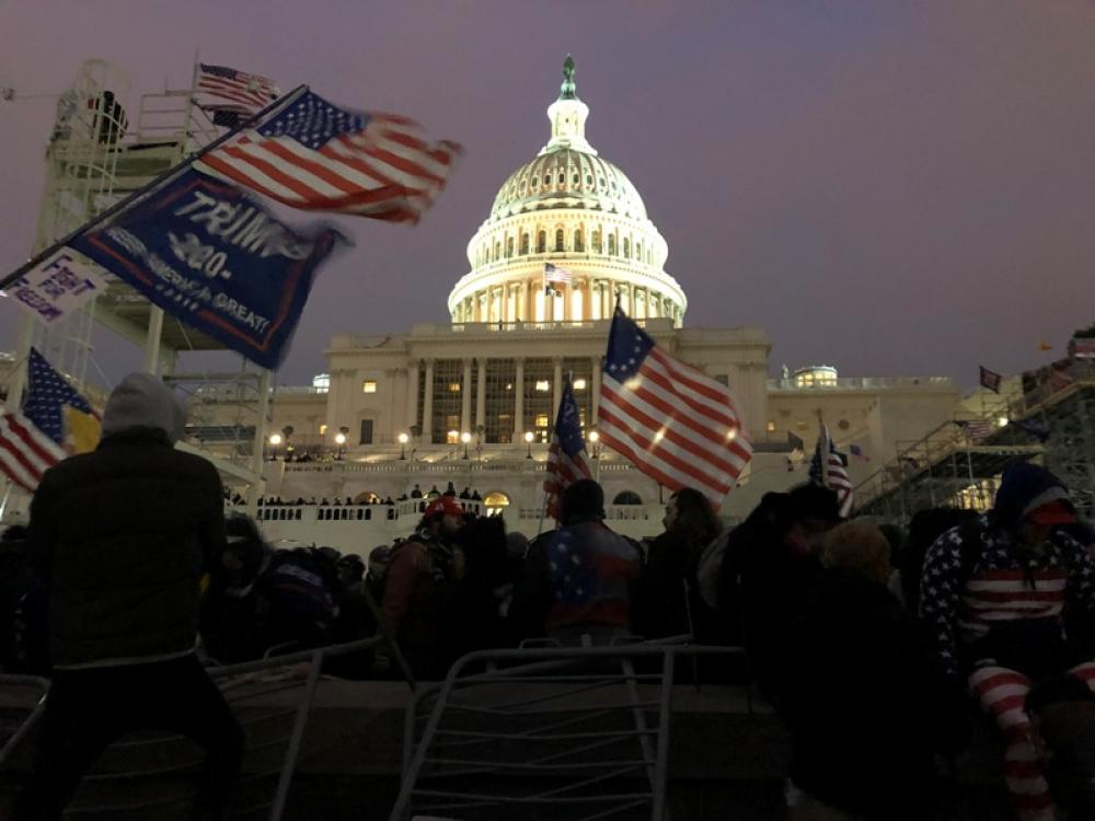 Security beefed up outside US Capitol ahead of Saturday