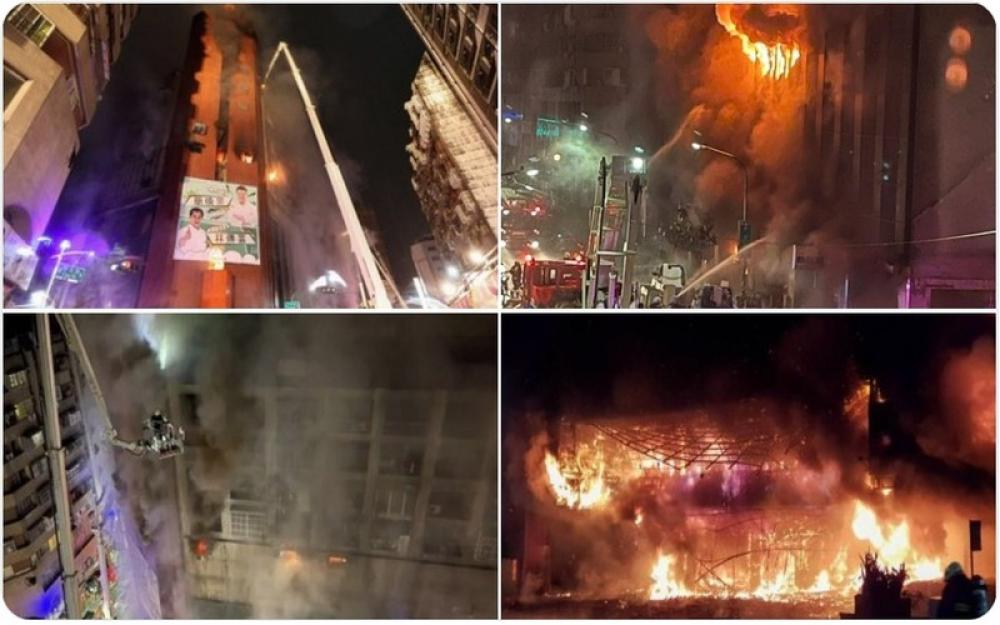 Fire in Taiwan residential multi-storey kills at least 46, wounds over 40