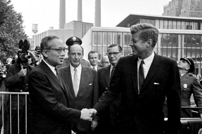 UN marks 50th anniversary of JFK's assassination