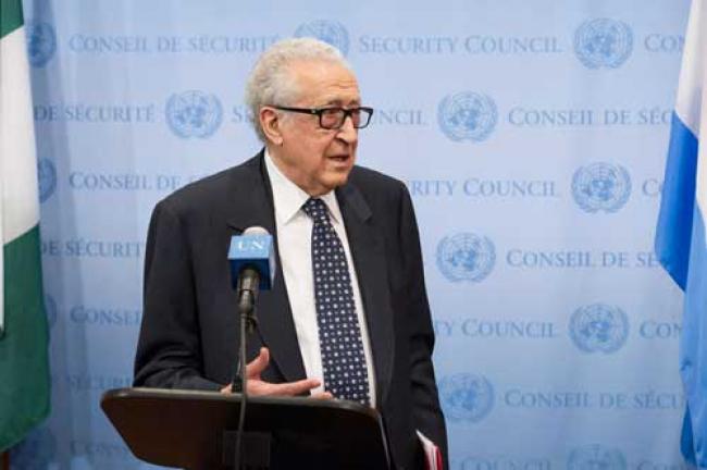 Syria: UN envoy urges UNSC to push peace talks