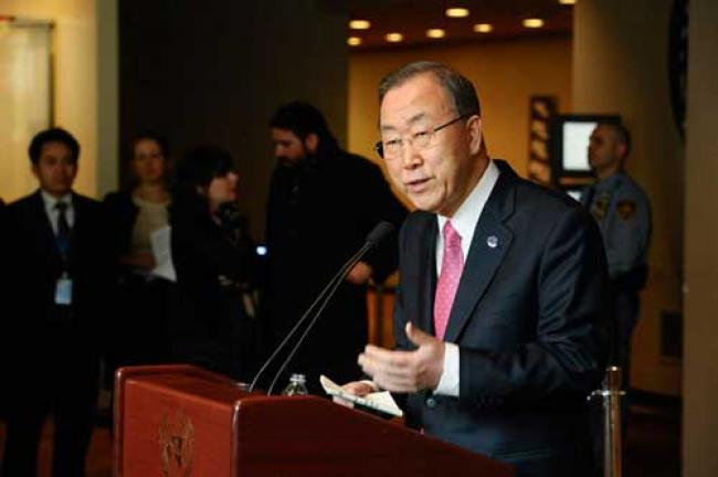 Syria's political process in crisis, must be re-energized: Ban